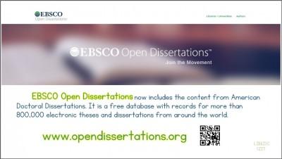 EBSCO Open Dissertations
