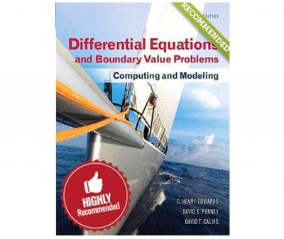 Differential Equations and Boundary value problems : Computing and Modeling, 5th edition